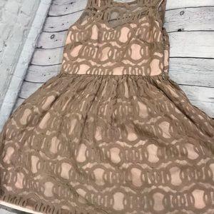 Anthro minuet dress small